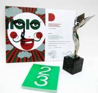 «Книга 23» издательства «ИндексМаркет» - лауреат национального приза «Российская Виктория 2010» в номинации «Графический дизайн»