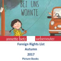 Каталог иностранных прав (осень 2017) на детскую литературу издательства Annette Betz (Ueberreuter)