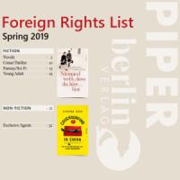 Иностранные права: каталог издательства PIPER (весна 2019). Художественная и нехудожественная литература