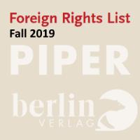 Иностранные права: каталог издательства PIPER (осень 2019). Художественная и нехудожественная литература