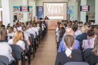 Прошёл открытый урок литературы в Новосибирске