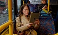 Электронные книги появятся в наземном транспорте Москвы