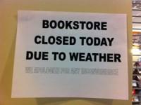 Розничные продажи книг в США упали из-за холодной зимы
