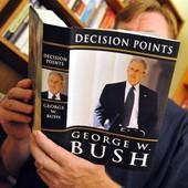 За полтора месяца мемуары Буша разошлись двухмиллионным тиражом