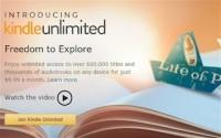 Amazon официально запустила сервис Kindle Unlimited