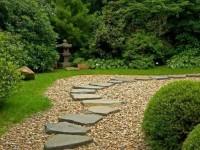 Виды материалов для мощения садовых дорожек
