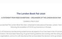 Из-за коронавируса отменена книжная ярмарка в Лондоне