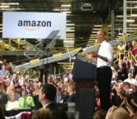 Независимые книготорговцы обиделись на Обаму из-за визита к Amazon