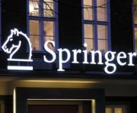 Издательский дом Springer Science будет продан за 3,3 миллиарда евро